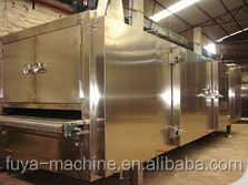 Special oven for pastry stoving and second time stoving for cake tunnel oven