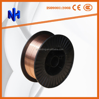 low cost mig/tig co2 gas shielded solid welding wire er70s-6