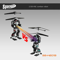 Amazing 2.5CH flying and transforming rc helicopter optimus prime design