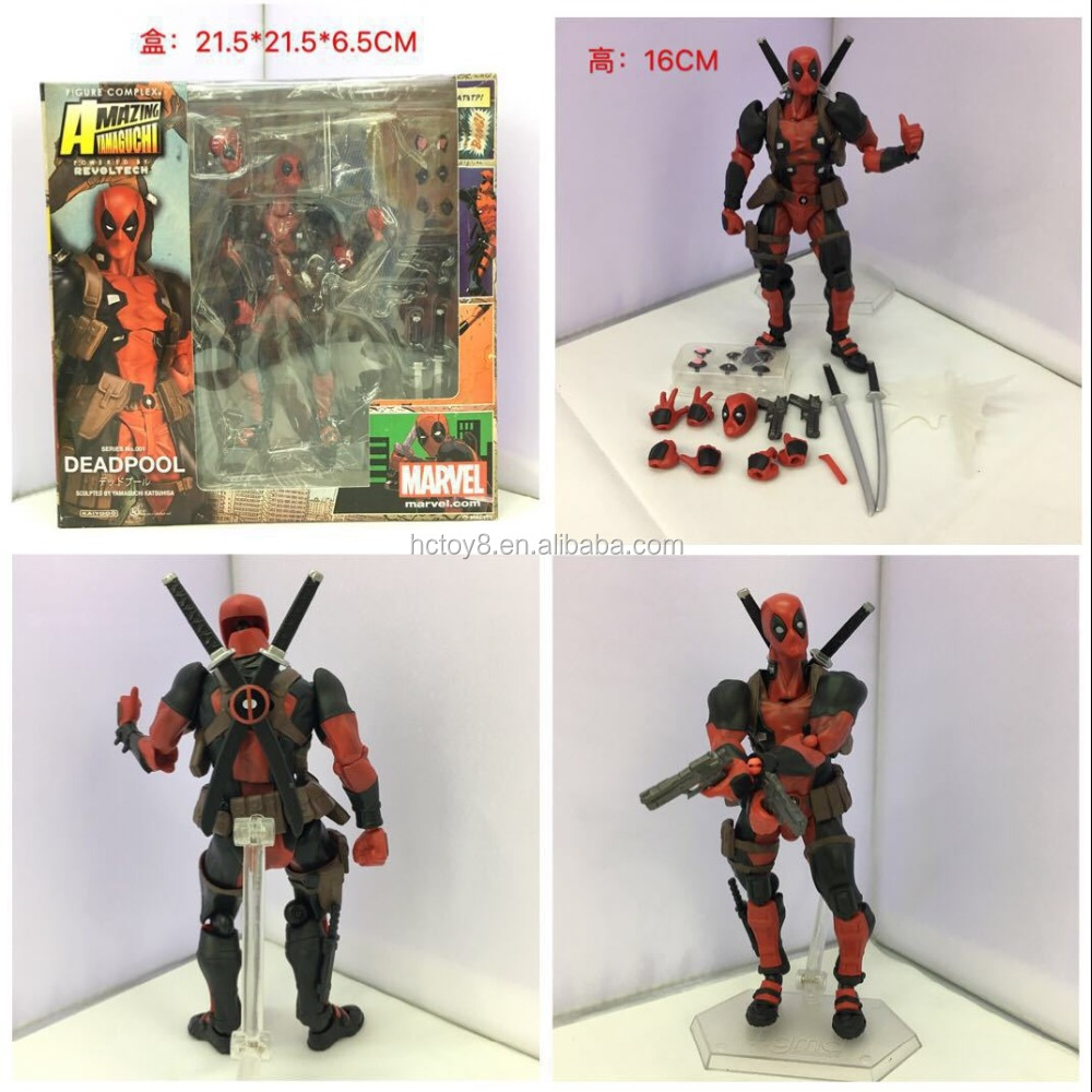 Gzltf Wholesale Marvel Deadpool 16cm PVC Action Figure