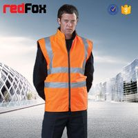 wholesale waterproof high visibility safety soft thin leather jacket