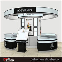 Fashion Creative cosmetic exhibit booth design