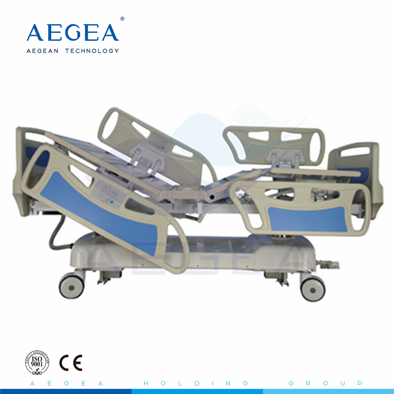 AG-BY008 ICU room five functions specifications of hospital adjustable electric medical bed size