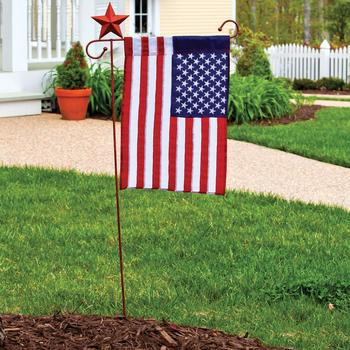 New coming foldable durable outdoor decorative stand national usa garden flag