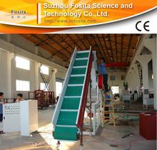 Hot selling pe/pp plastic film recycling/ cleaning line