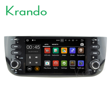 Krando Android 7.1 6.2'' car audio radio entertainment for Fiat Punto 2010-2015 Linea 2012-2015 gps navigation player KD-FP602