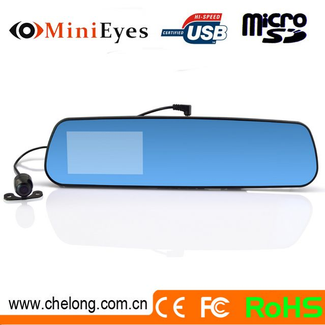 Android 4.0.3 dual cameras G-sensor GPS navigation Bluetooth Wifi rearview mirrors cover