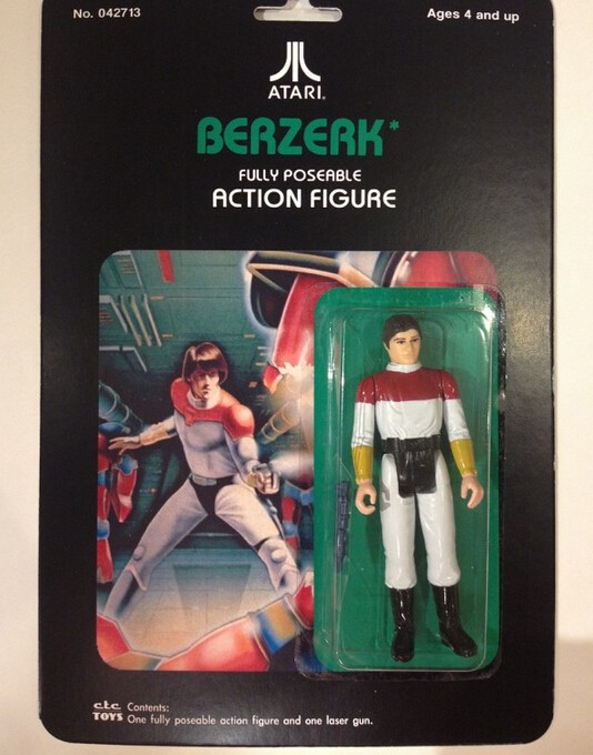 2015 Custom Atari 2600 Action Figures,flexiable plastic action figure,super movable pvc man action figure