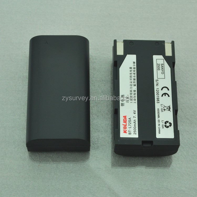 Li-ion rechargebale GPS battery with 7.4v 2500mAh worked for Kolida surveying instruments