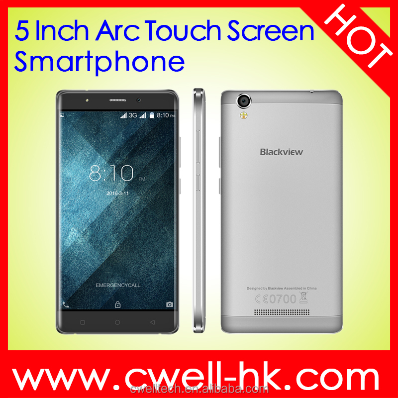 Blackview A8 Cheapest MTK6580 Quad core 1GB RAM 3G WCDMA 8GB ROM 5 inch dual sim android mobile phone