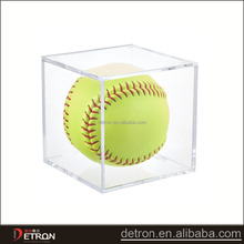 Whosale acrylic golf ball display case, tennis ball display case