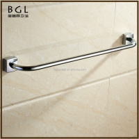 2016 High quality Zinc alloy Chrome finishing Wall mounted Bathroom sanitary items Single towel bar