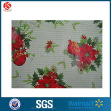 Sky blue printing the snowman warm Christmas party square tablecloth