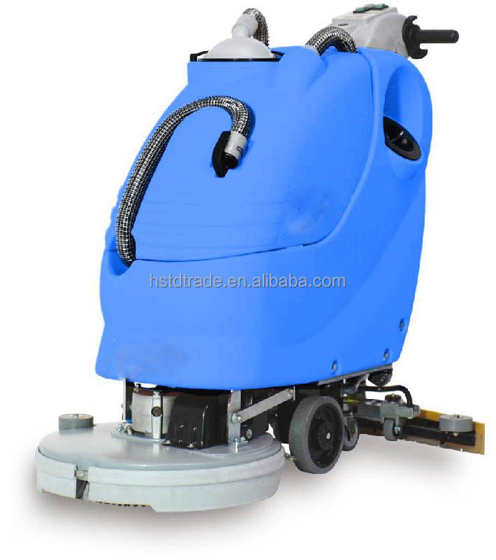 HSTD-500/floor cleaning machine/sofa cleaning machine/cleaning machine for supermarket /improved hand push type automatic