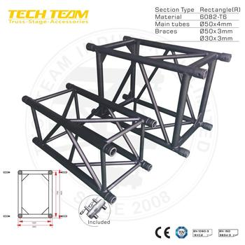 D76-RS15 wedding stage lighting truss , aluminum stage frame truss structure