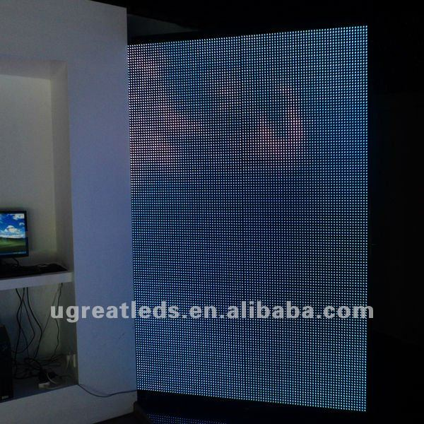 Full color!! P16 Led Mesh Panel for Stage