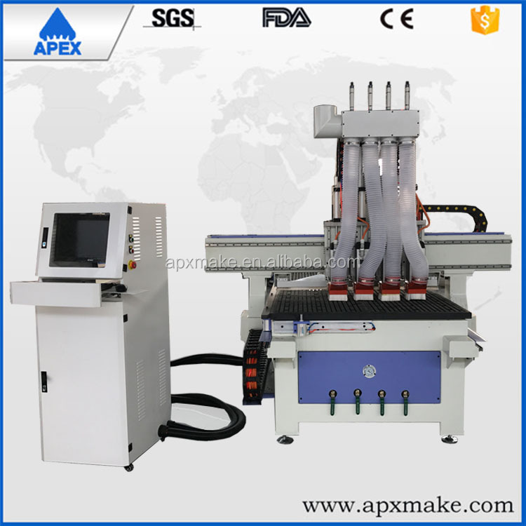 Mach3 controller linear ATC cnc router for wood furniture