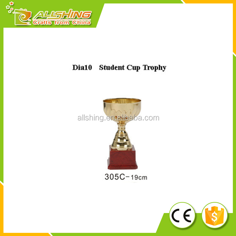 2016 best selling custom metal award trophy and trophy cup from europe with high quality