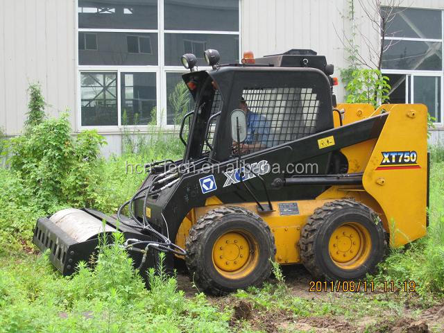 HCN 0205 series mini vibratory roller for bobcats from Xuzhou