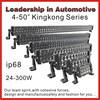 Industry leading CE,ROHS certificated life time warranty 4 -50 inch high-end tuning light led light bar for car