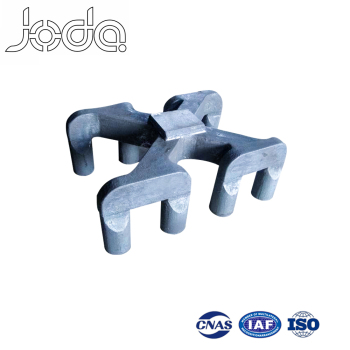 Ferrous Lost Foam Alloy Steel Metal Casting Anode Electrolysis Rod Yoke