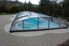 10-30mm big hard plastic swimming pool,carports garages with polycarbonate roof