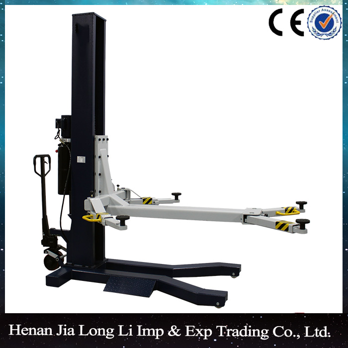 single post car lift auto hydraulic lift 1 post car lift