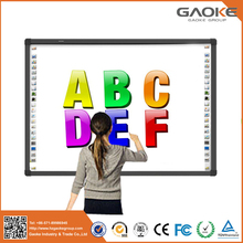 Sensitive white board finger touch portable infrared smart interactive whiteboard
