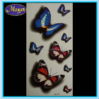 low price new butterfly neck chain tattoo designs