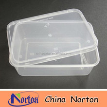 High Quality Transparent Plastic Micro Container with Lid NTPC- 142B