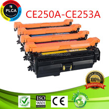 504a Compatible Toner Cartridge CE250A CE251A CE252A CE253A for HP 3525 3530 cp3525 dn cm3530 Laser Toner cartridge