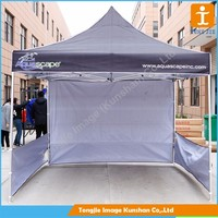 Custom outdoor quick folding advertising tent