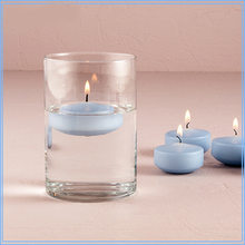 Cream Color Unique Round Shaped Floating Candles