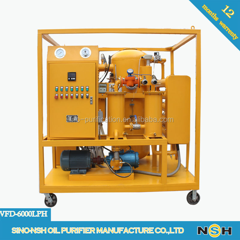 Further Biodiesel Production Insulation Vacuum Oil Recycling Purifier System