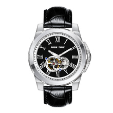 custom luxury mechanical watch for men brand your own logo wristwatch