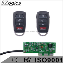 12DC RF Remote Control & RC Receiver with Dip Switch,momentary output or continuous output