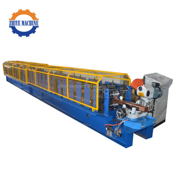 High Speed Automatic Hydraulic Galvanized Rain Pipe Roll Forming Machine