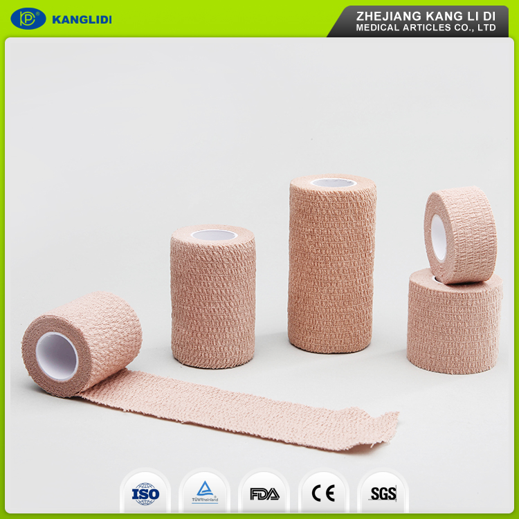 KLIDI Free Sample Yueqing Factory Wholesales Nonwoven Material Crep Medical Bandage