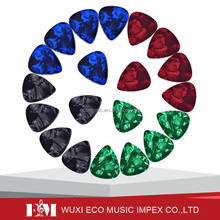 Colorful custom celluloid guitar picks