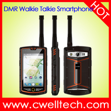 4 Inch Touch Screen Analog DMR Dual Mode Walkie Talkie android smartphone