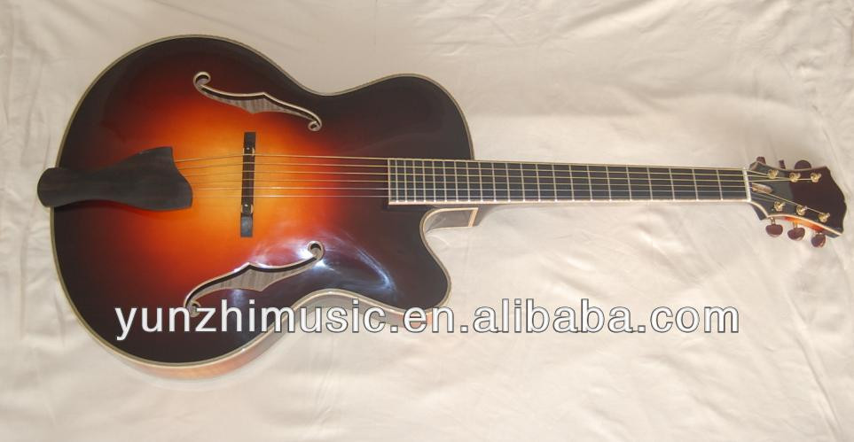 promotional discount cheap price hand made jazz guitar