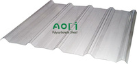 Corrugated Polycarbonate Roof Sheet 3mm thickness from Aoci