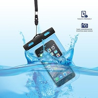 Inflatable Waterproof Pouch Mobile Phone Bags 30M Underwater Dry Case Cover For iphone 5 5S 6 6S Plus for Samsung S8