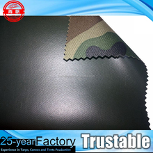 Camouflage PVC Coated Polyester Water-proof Oxford Fabric of 420D, 600D,1000D, for Tent, Cover, Drop Cloth