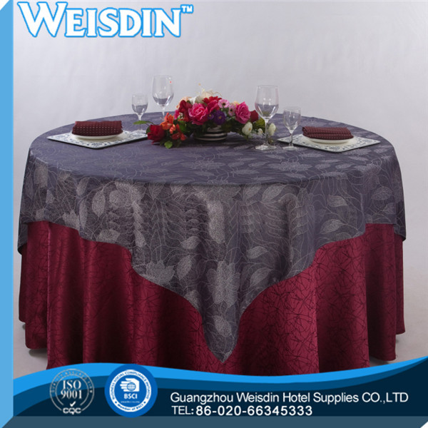 faux fur high quality Jacqurd spun polyester table napkin for commercial laundry center and hotel