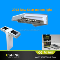 1W New Products Infrared induction solar lawn lights with 120 angle induction