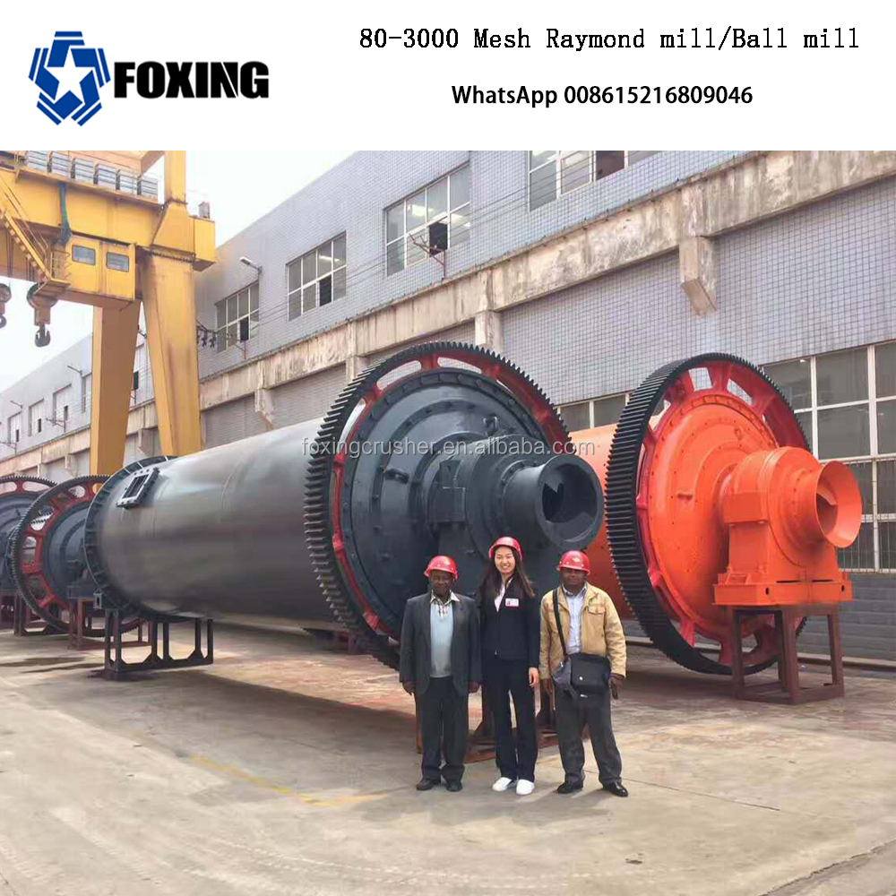 beneficiation plant barite mill ball mill for cement