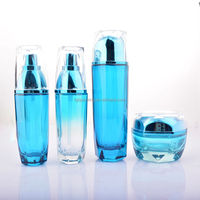 wholesale luxury spary lotion container 30ml glass emulsion packaging bottle