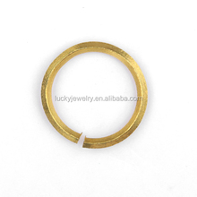 Wholesale Gold Plated Copper Jump Rings Open Brass Jump Rings Jewelry Findings Jump Rings