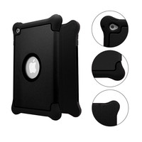 Drop-resistant Silicone Kickstand Tablet Case for iPad Air